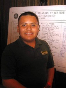 Julian Sevilla, an eighth grade student at Chi Chi Academy, is Suncoast's Junior Youth of the Year,